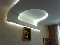 Потолок из гипсокартона галерея